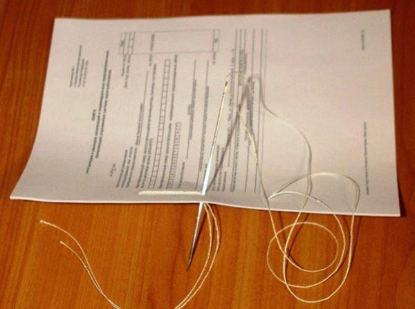 Как сшивать документы для налоговой по требованию, как правильно это сделать