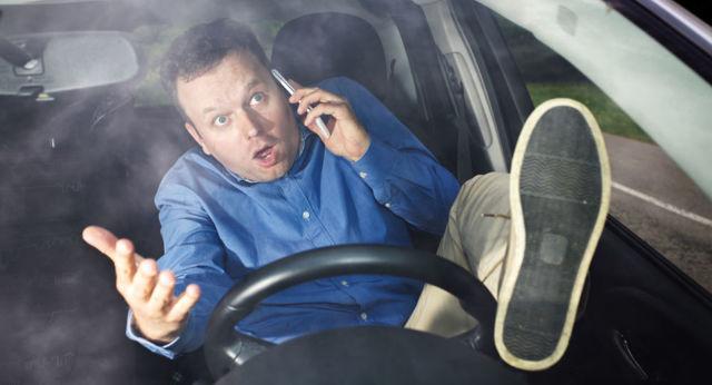 Штраф за телефон за рулем в 2020: статья и сумма наказания, как оплачивать