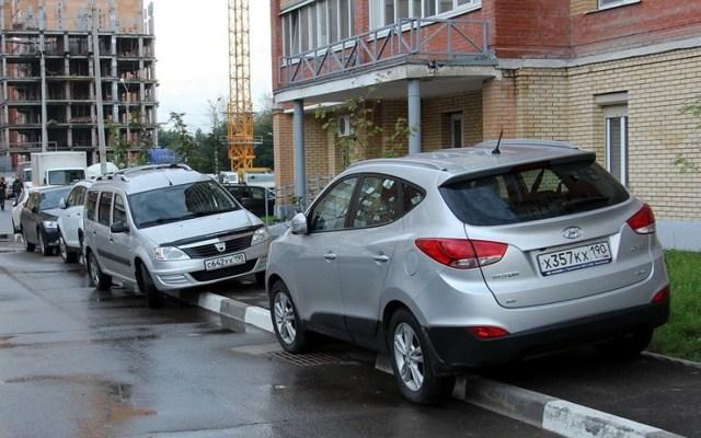Парковка на тротуаре, штраф в 2020: статья и сумма наказания, как оплачивать