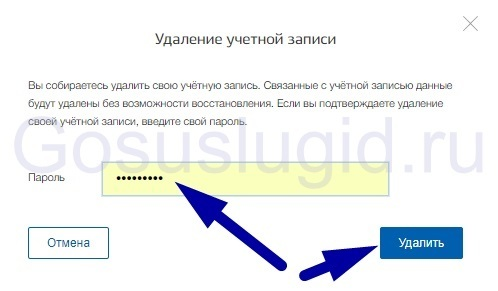 Удаление учетной записи на Госуслугах: как удалить аккаунт и личный кабинет