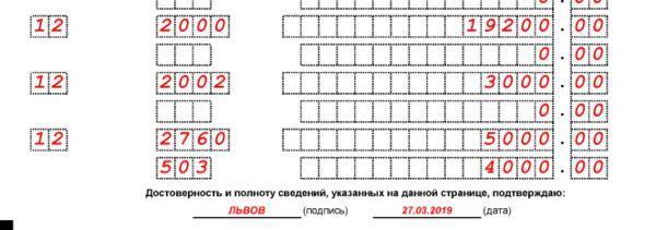 Что значат коды в справке 2-НДФЛ: 2000, 2002, 2300, 2400, 2510, 2720, 2760, 4800