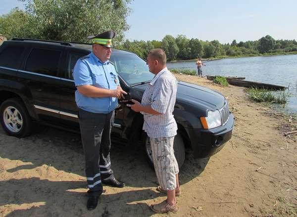 Какой штраф дают за машину около водоема: статья и сумма наказания, оплата