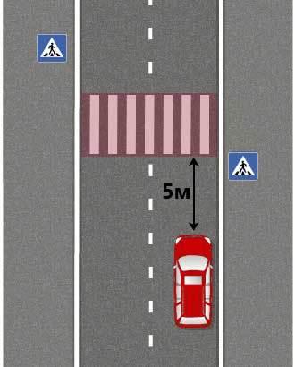 Штраф за парковку на пешеходном переходе и за остановку на зебре, размер штрафа
