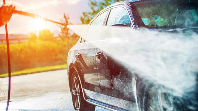 Где можно мыть машину по закону