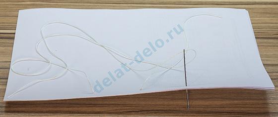О прошивании документов: как правильно сшивать нитками, пошаговая инструкция